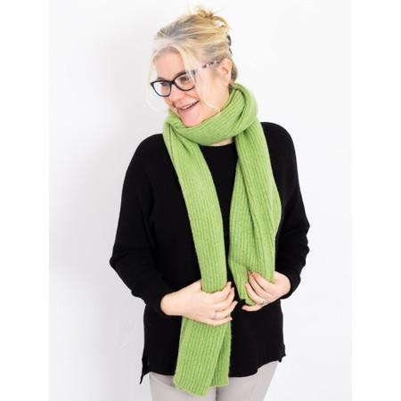 Amazing Woman  Chlobo Vertical Ribbed Scarf - Green