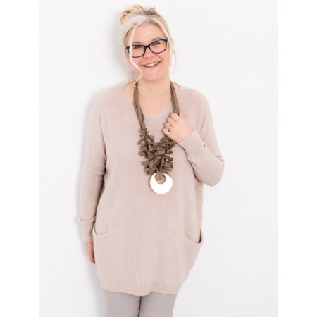 Rosanna Barcelona Identity Necklace  - Beige