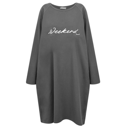 Chalk Brody Weekend Dress - Grey