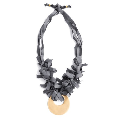 Rosanna Barcelona Identity Necklace  - Grey