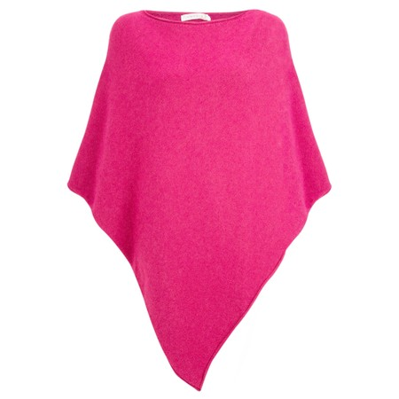Amazing Woman  Poncho in Supersoft Knit  - Pink