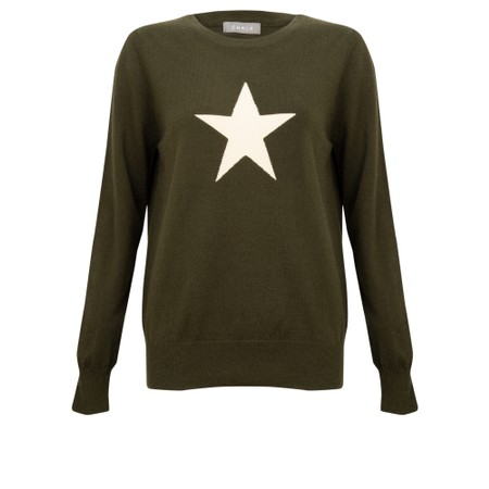 Chalk Taylor Star Jumper - Green