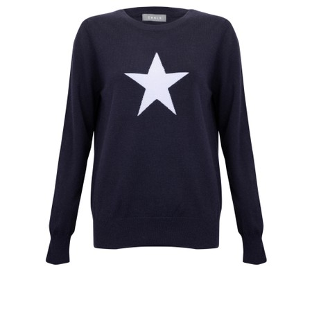 Chalk Taylor Star Jumper - Blue