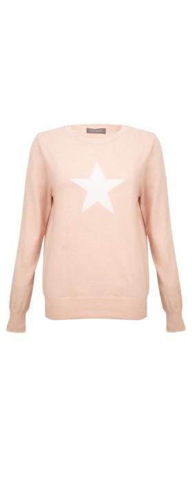Chalk Taylor Star Jumper Dusky Pink