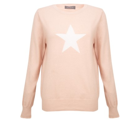 Chalk Taylor Star Jumper - Pink