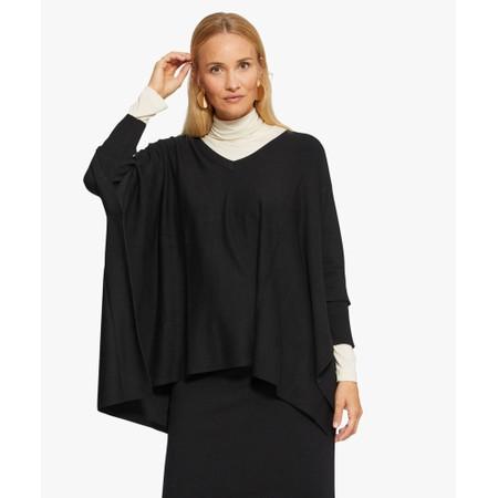 Masai Clothing Fosna Oversized Knit - Black