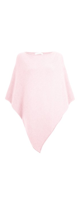 Amazing Woman Poncho in Supersoft Knit  Pale Pink