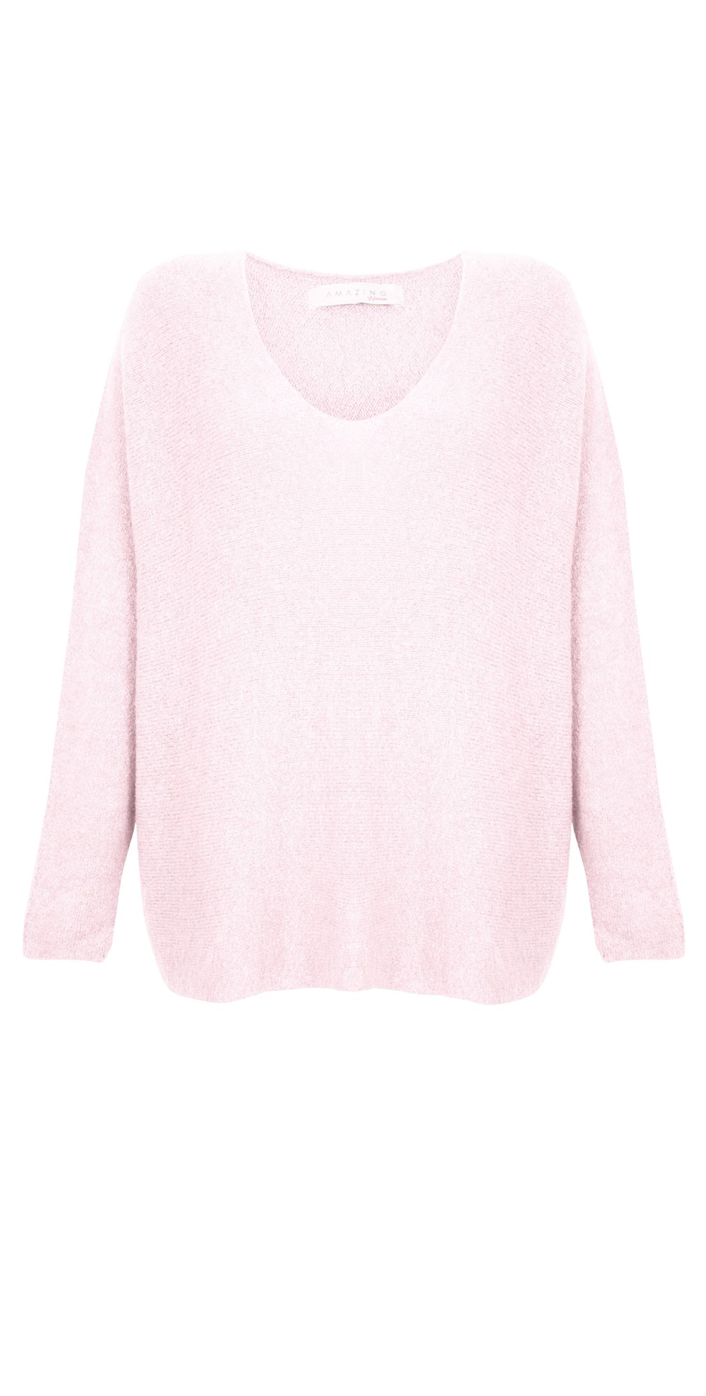 Cadee V Neck Oversized Cosy Knit main image