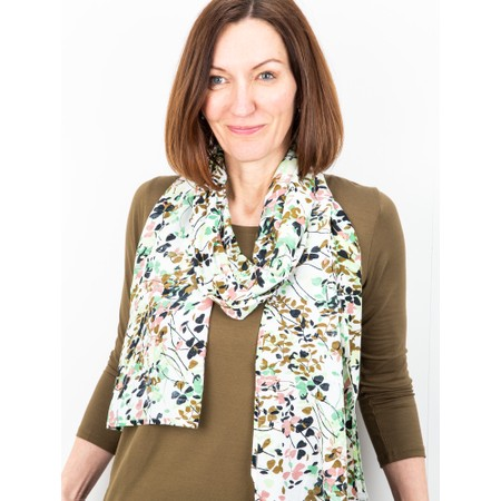 Masai Clothing Along Scarf - Green