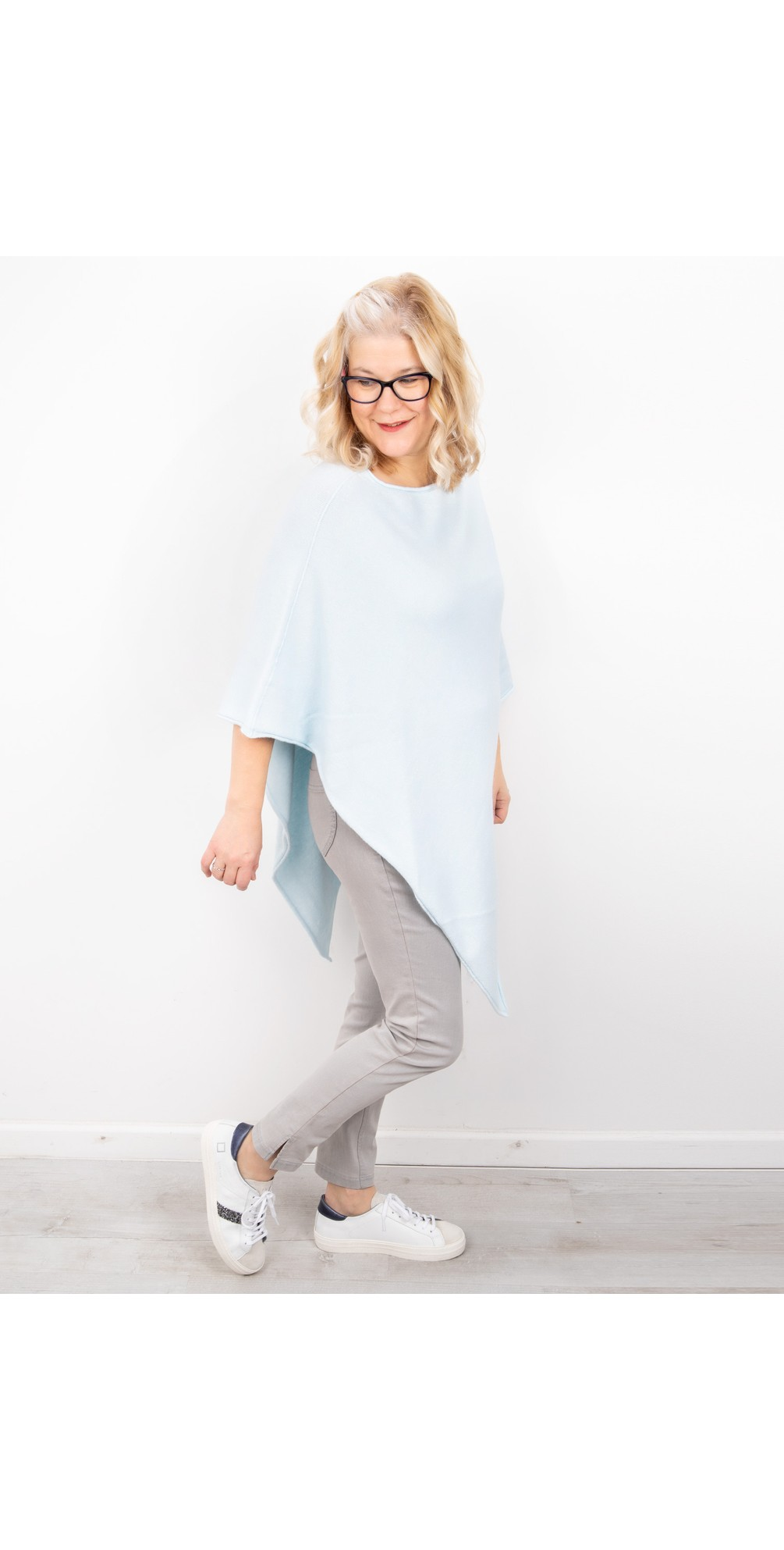 Poncho in Supersoft Knit  main image