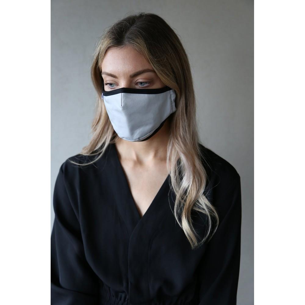 Breathe Organic Cotton Adult Face Mask  AG02 Grey