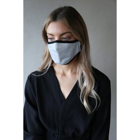 Breathe Organic Cotton Adult Face Mask  - Grey