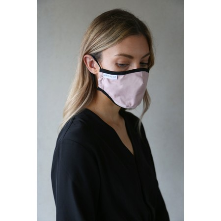 Breathe Organic Cotton Adult Face Mask  - Pink