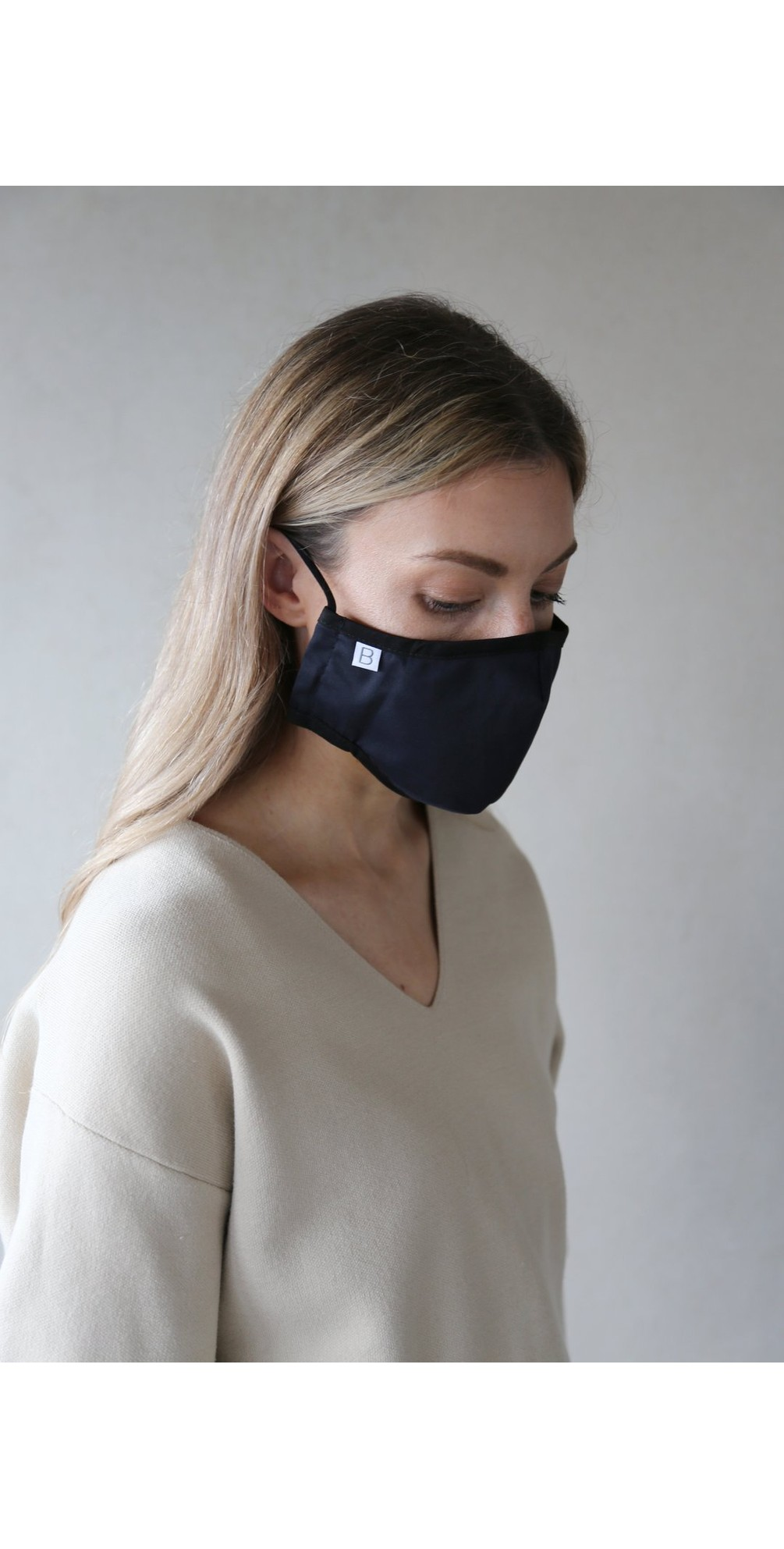 Organic Cotton Adult Face Mask  main image