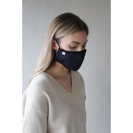 Breathe Organic Cotton Adult Face Mask  - Blue