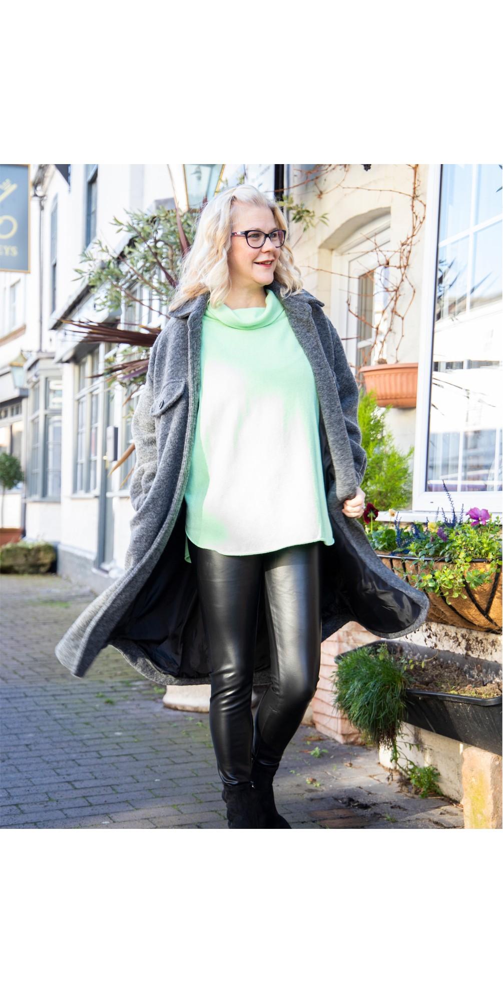 Stella Faux Leather Leggings main image