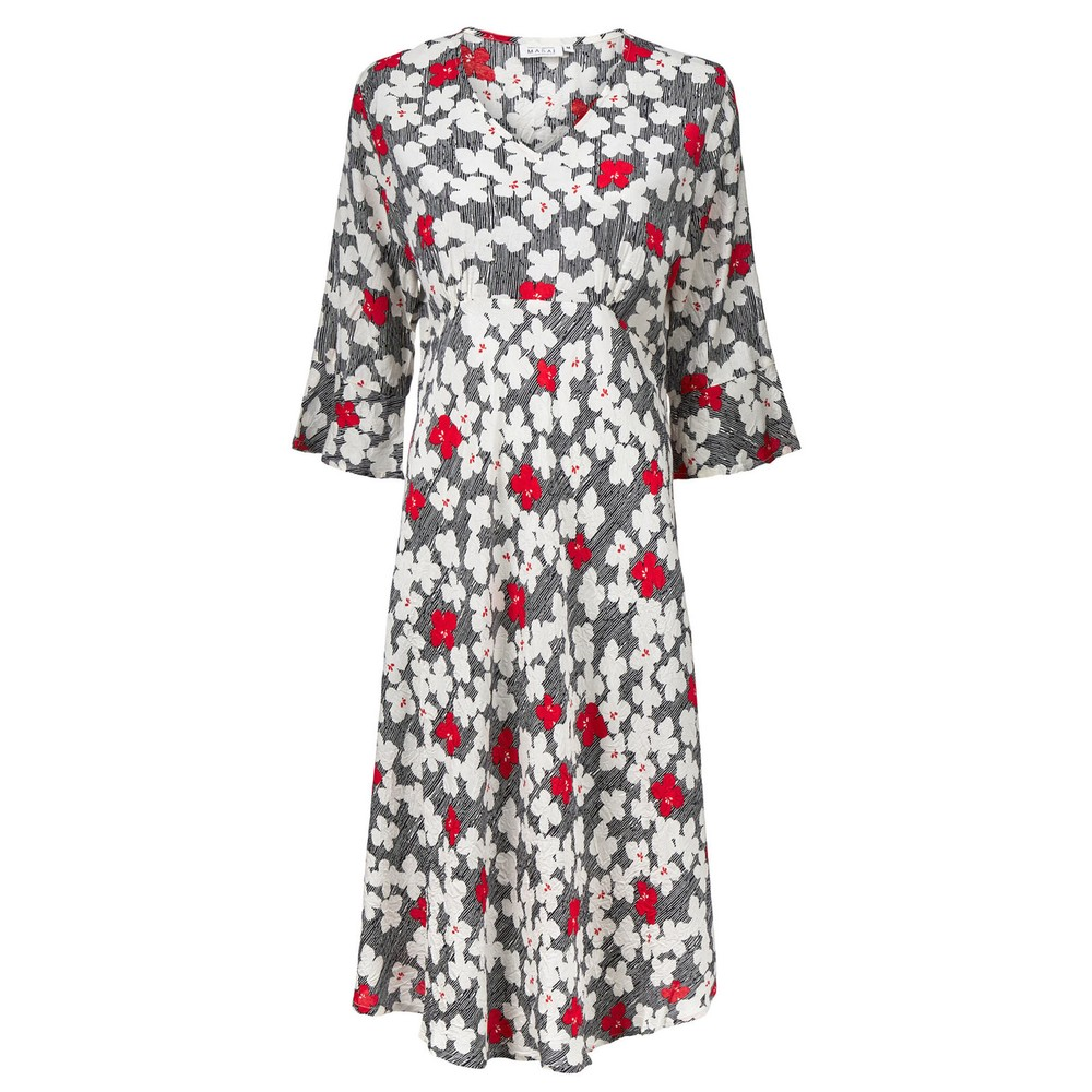 Masai Clothing Nita Dress Valient Poppy