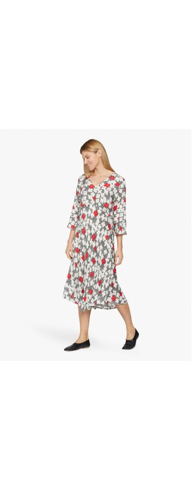 Masai Clothing Nita Dress Valient Poppy