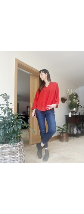 Masai Clothing Femke Top Valient Poppy