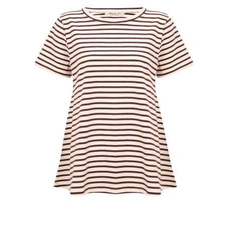 Mama B Atollo R Stripe T-Shirt - Multicoloured