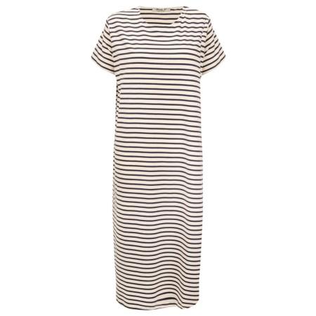 Mama B Tappo R Stripe Maxi Dress - Blue