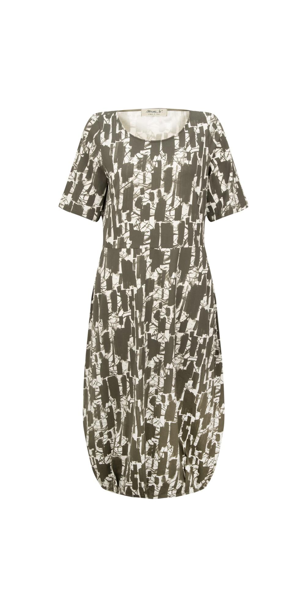 Dogliani S Printed Jersey Dress main image