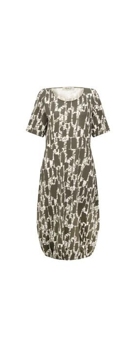 Mama B Dogliani S Printed Jersey Dress Timo Print