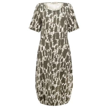 Mama B Dogliani S Printed Jersey Dress - Green