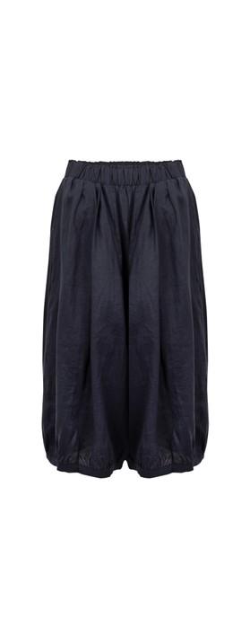 Tirelli Billow Linen Pant Deep Navy