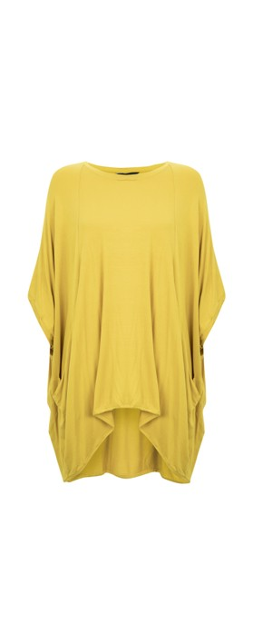 Tirelli Oversized Relaxed Top Amber