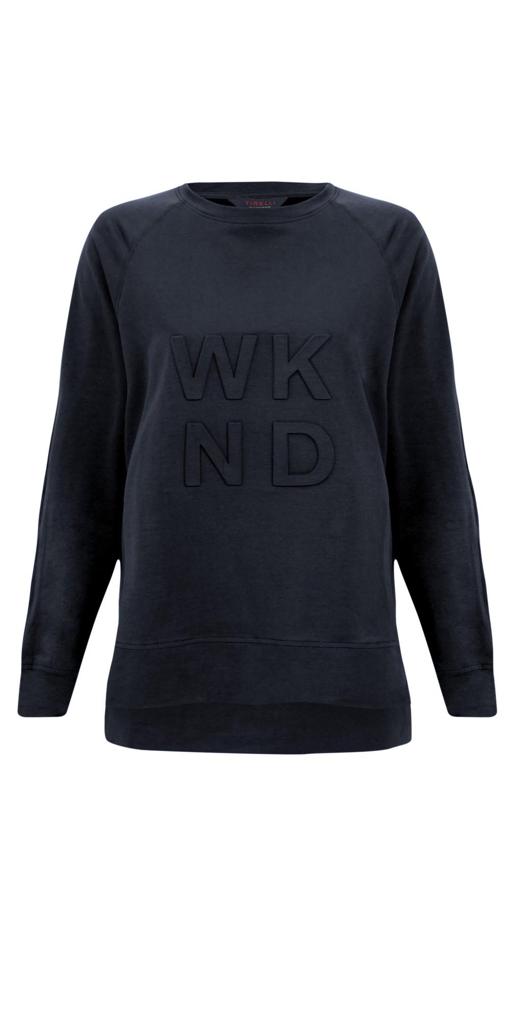 Embossed Wknd Sweatshirt main image