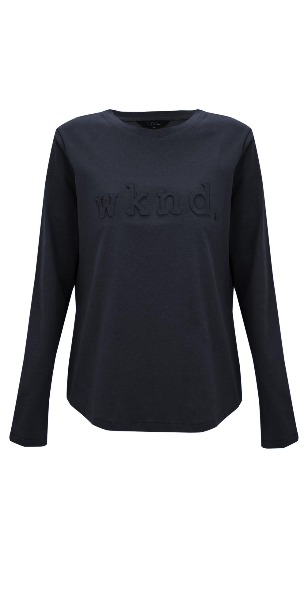 Raised Wknd Long Sleeve T-shirt main image