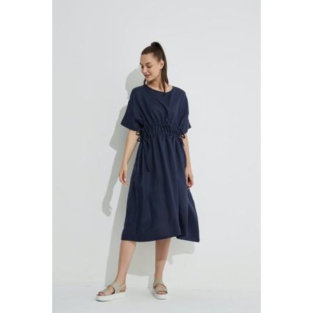 Tirelli Double Drawcord Dress - Blue