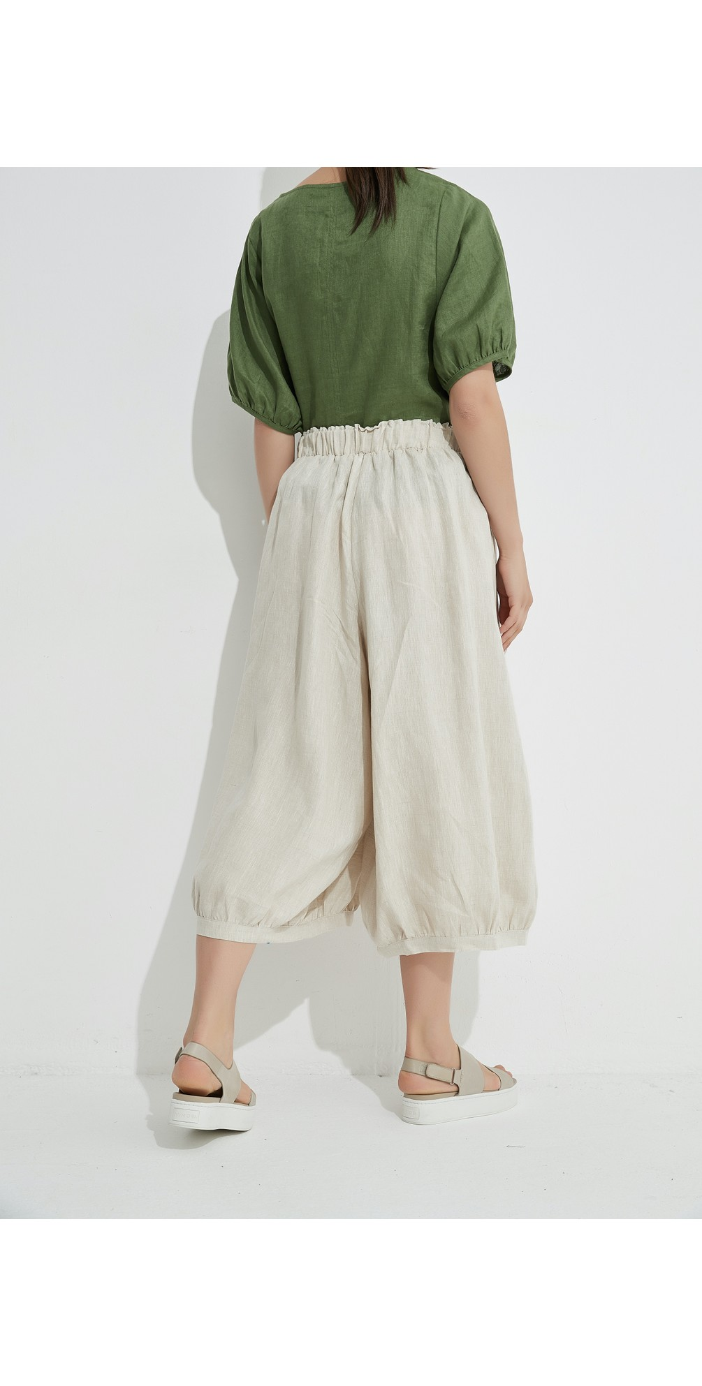 Billow Linen Pant main image