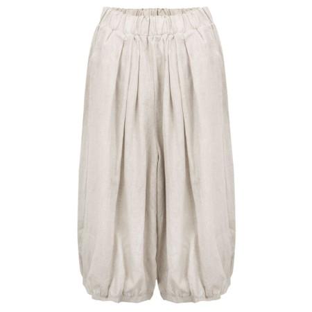 Tirelli Billow Linen Pant - Beige