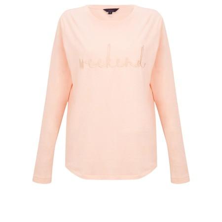 Tirelli Embroidered Weekend Tee - Pink