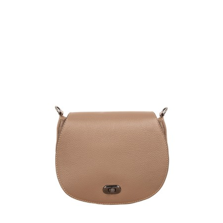 Gemini Label Bags Pietra Leather Shoulder bag - Beige