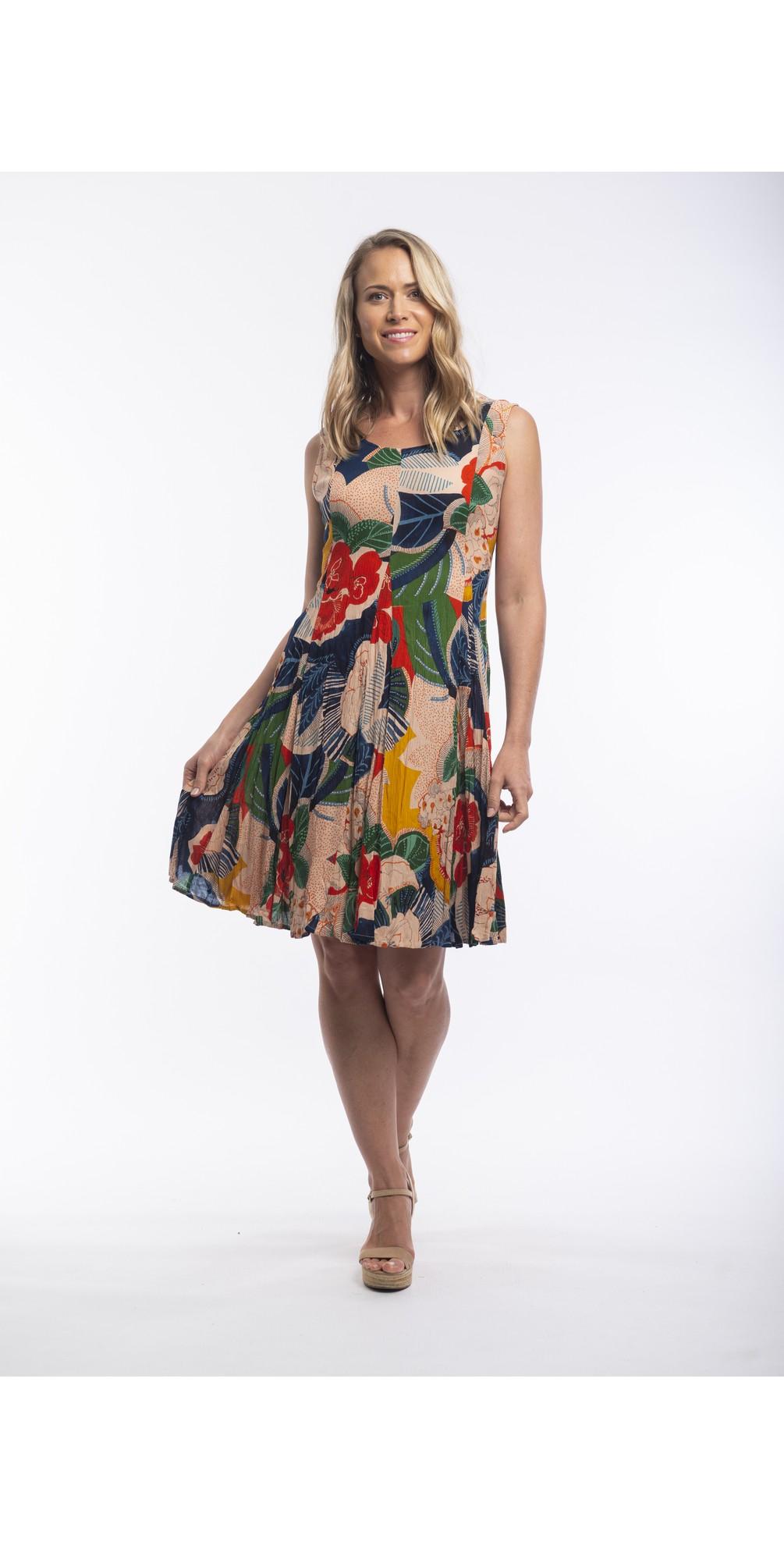 Costa Brava Sleeveless Dress main image