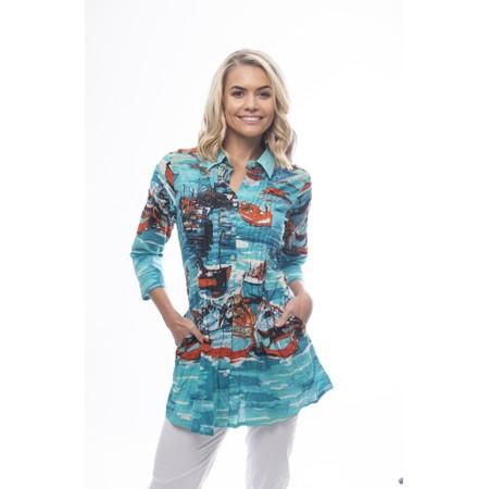 Orientique Certified Organic Tunic Shirt - Multicoloured