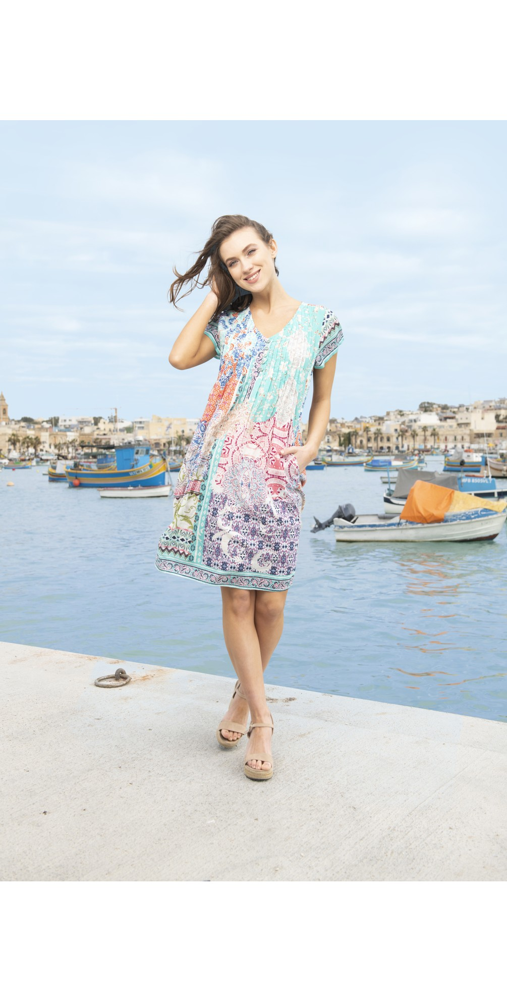 Madeira Easy Fit Dress main image