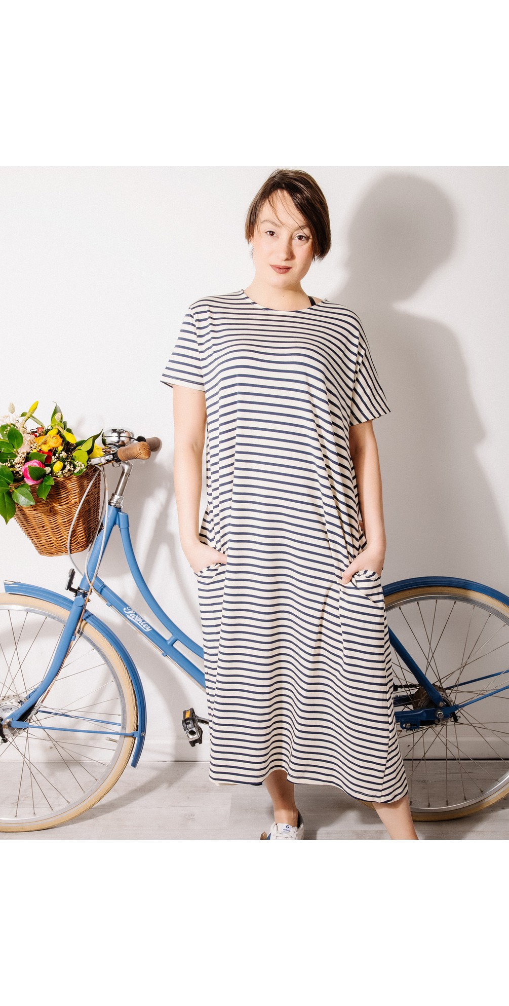 Tappo R Stripe Maxi Dress main image
