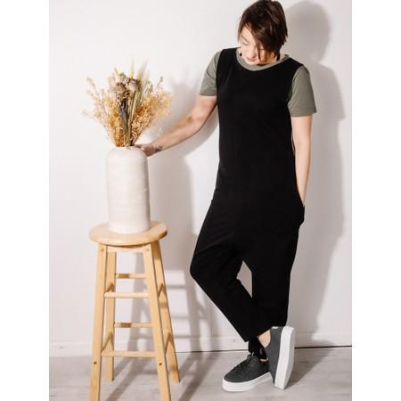 Mama B Bizet U Jumpsuit - Black