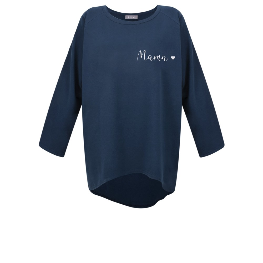 Chalk Robyn Mama Top - Gemini Exclusive! Navy / White