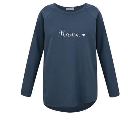 Chalk Tasha Mama Top- Gemini Exclusive ! - Blue