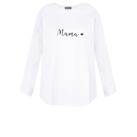 Chalk Tasha Mama Top- Gemini Exclusive ! - White