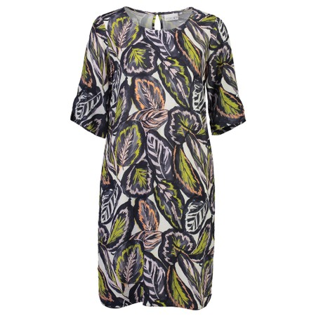 Foil All About The Sleeve Dress - Multicoloured