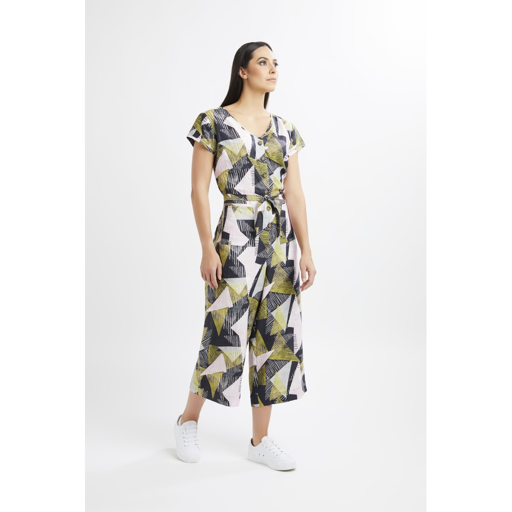 Foil Straight Talker Jumpsuit Timelines