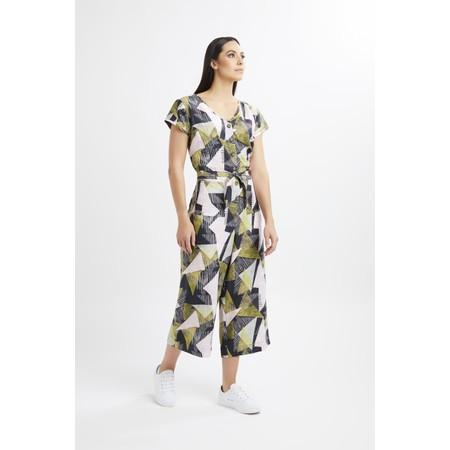 Foil Straight Talker Jumpsuit - Multicoloured