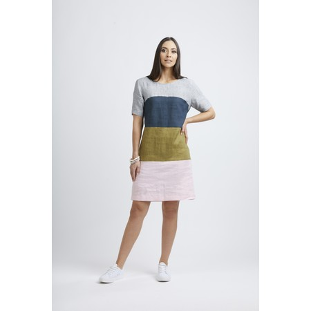 Foil Band Of The Others Dress - Multicoloured