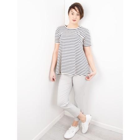 Mama B Atollo R Stripe T-Shirt - Blue